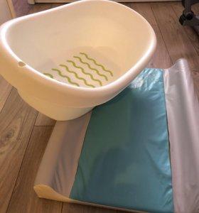 Ванночка икеа и доска пеленальная