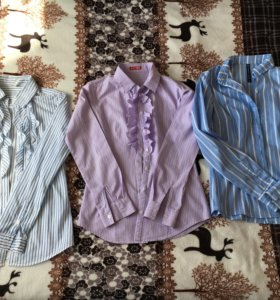 Рубашки-блузы 4 шт