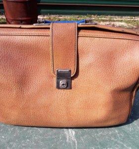 Ретро портфель чемодан