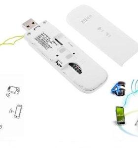 4G wi-fi модем/роутер ZTE MF79s-любой тариф