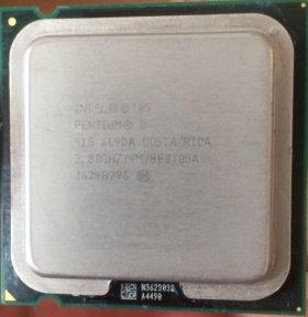 Процессор INTEL Pentium D 915. Lga 775