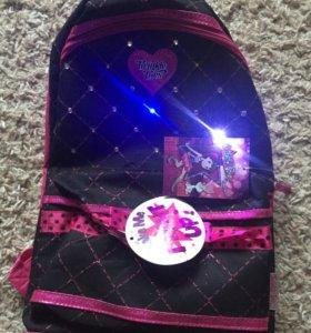 Детский светящийся рюкзак