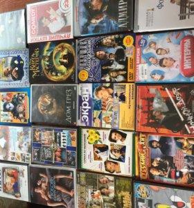 Диски с фильмами. За все 500₽
