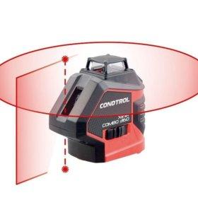 Новый Лазерный уровень condtrol XLiner combo 360