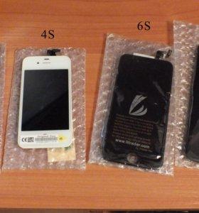 Новые экраны для IPhone