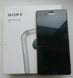 Sony z3 dual + докстанция