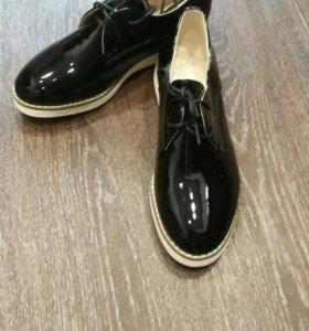 В наличии туфли новые