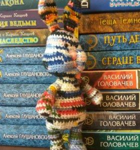 Весенний зайчик - амигуруми (вязаная игрушка)
