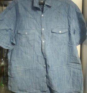 Рубаха джинсовая новая