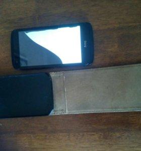 HTC 526 с чехлом
