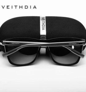 Солнцезащитные квадратные очки с поляризацией