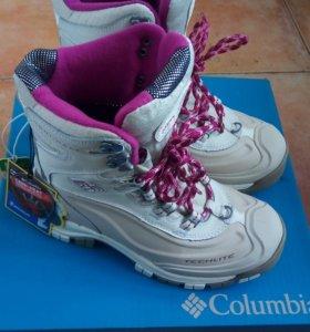 Ботинки зимние Columbia Новые