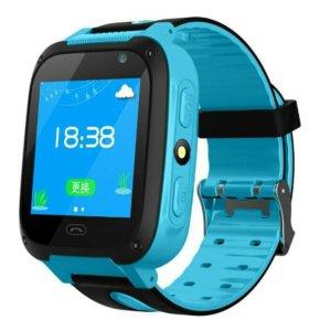 Детские gps смарт часы G36M новые