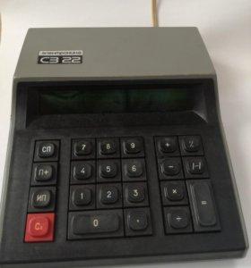 Калькулятор настольный Электроника СЗ 22