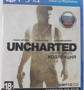 Игра для PS4 Uncharted 3 в 1