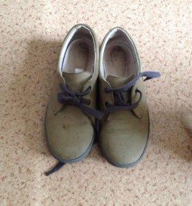 Туфли для мальчика р.34,кожа