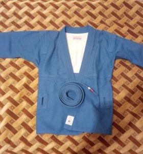 Куртка для самбо. 44 размер.