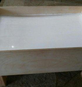 Столик для рисования. С подсветкой.