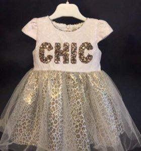 Платье детское 80 см