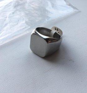 Кольцо мужское, литое, сталь