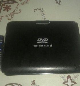 Портативный DVD и ЖК телевизор