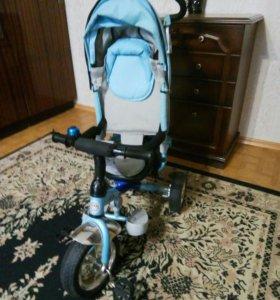 детский велосипед_каляска