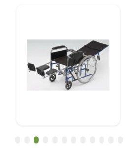 Инвалидная коляска с регулируемым углом наклона