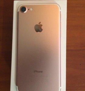 Продам iPhone 7 32Gb Rose Gold ( розовое золото)