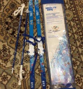 Детский лыжный комплект