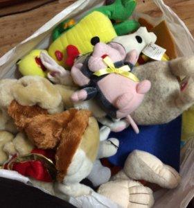 Бесплатно пакет мягких игрушек