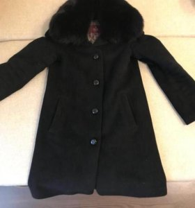 Зимнее пальто Elis ориг. с песцовым воротником