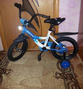 Велосипед детский, новый!