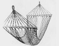 Гамак из шелковой нити
