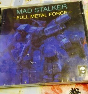 Mad stalkers PlayStation one game