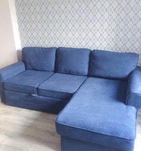 Трехместный угловой диван от Огого Обстановочка