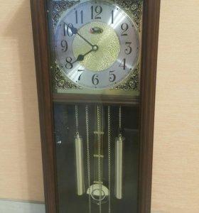 Часы настенные маятник звук