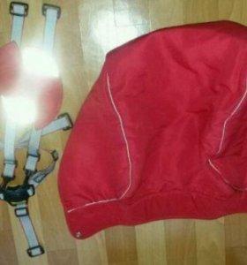 Продам накидку с ремнями от коляски Jetem concept