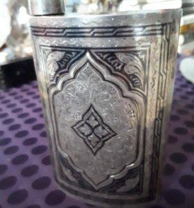 Серебрянная фляжка