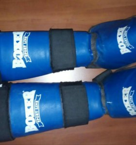 Защита голени и ступни для каратэ