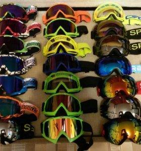 Лыжные очки маска