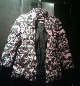 Куртка -пуховик на девочку