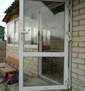 Двери алюминиевые/пластиковые