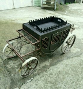 Мангал карета