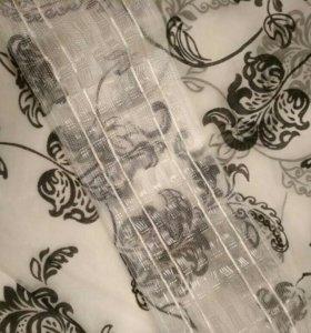 Тюль с рисунком