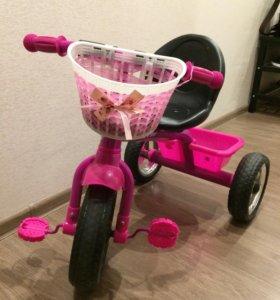 Детский 3х-колесный велосипед