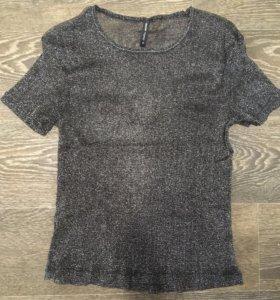 Прозрачная футболка cropp новая