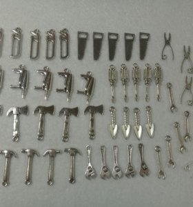 """Подвесы """"инструменты""""металические"""