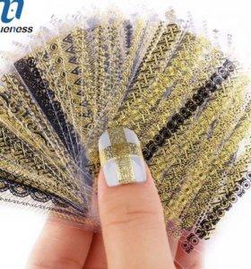 Новые наклейки на ногти