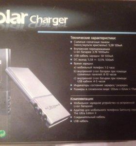 Зарядка , солнечная батарея