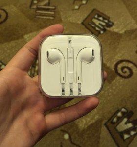 Наушники Apple EarPods оригинал